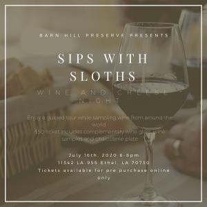 Sips with Sloths