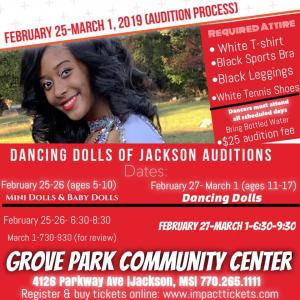 Dancing Dolls Of Jackson Auditions