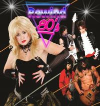 Tickets For Rewind 80s Band Back To Lucky 13 Garage In