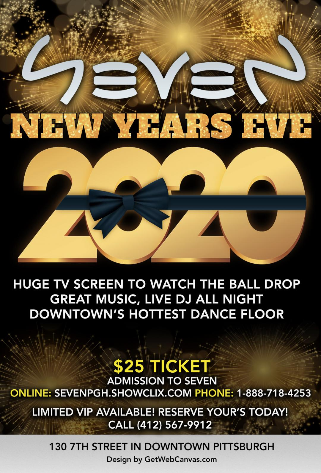 Tickets for New Year's Eve 2020 in Pittsburgh from ShowClix