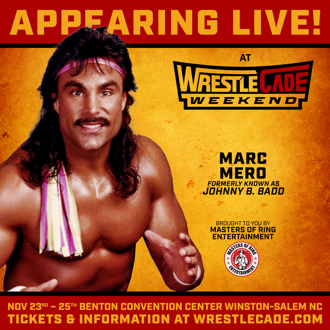 Marc Mero WrestleCade 2018 Masters Of Ring Entertainment MORE Wrestling