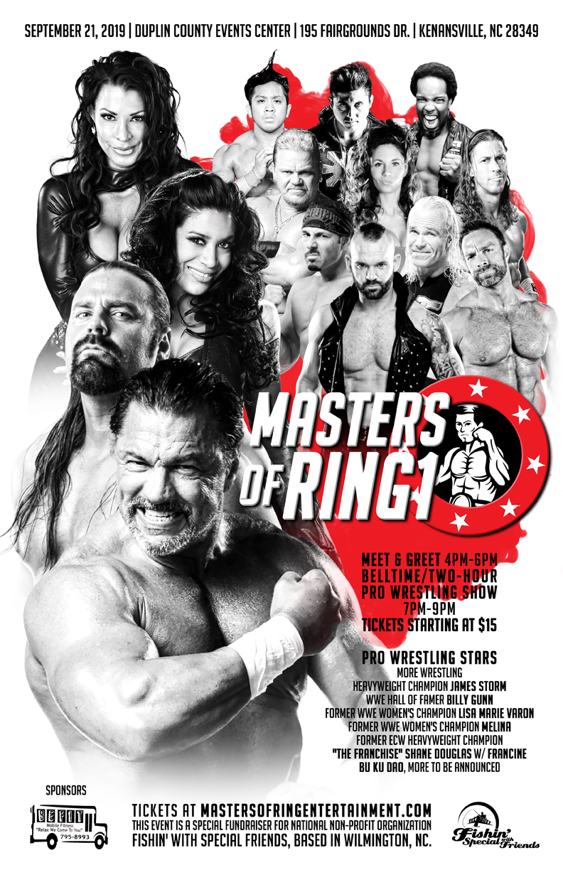 Masters of Ring Entertainment poster