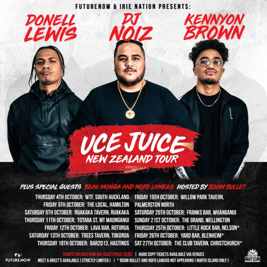 Tickets for uce juice palmerston north in palmerston north from tickets for uce juice palmerston north in palmerston north from ticketspace m4hsunfo