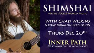 Shimshai Acoustic in Nevada City