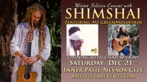 Winter Solstice Concert with Shimshai & MJ