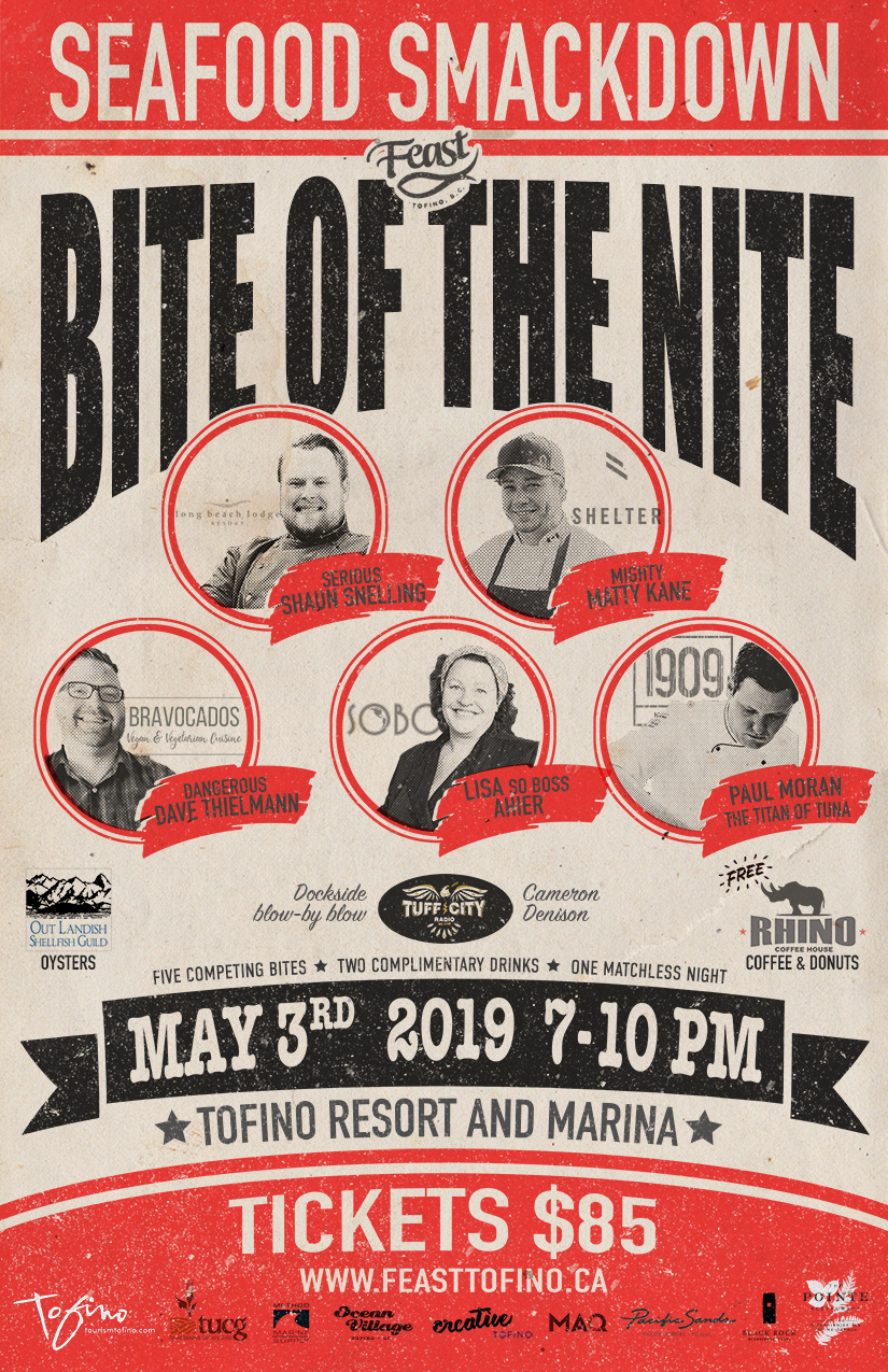 Bite of the Nite boxing poster