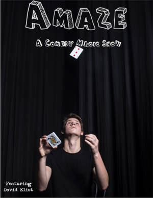 AMAZE - A Comedy Magic Show