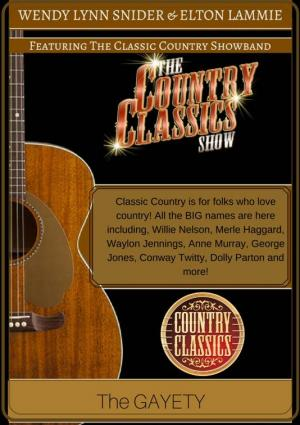 The Country Classics Showband