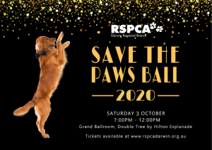 20th RSPCA Save the Paws Ball