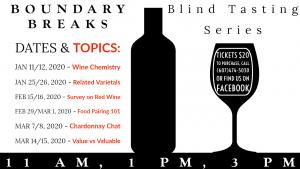 Blind Tasting Series at Boundary Breaks