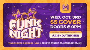 Funk Night with J.I.N and DJ Tanner