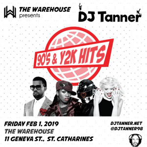 90s & Y2K Hits with DJ Tanner