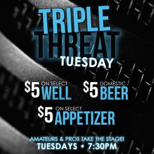 Triple Threat Tuesday