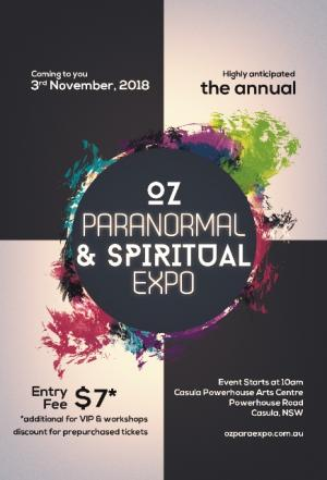 VIP Tickets - Oz Paranormal & Spiritual Expo