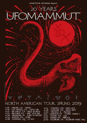 Ufomammut - 26 avril,2019 // Bar Le Ritz PDB