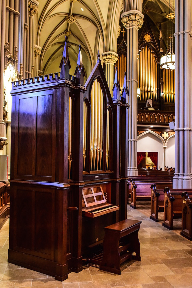 Hall & Labagh and Henry Erben pipe organs at the Basilica