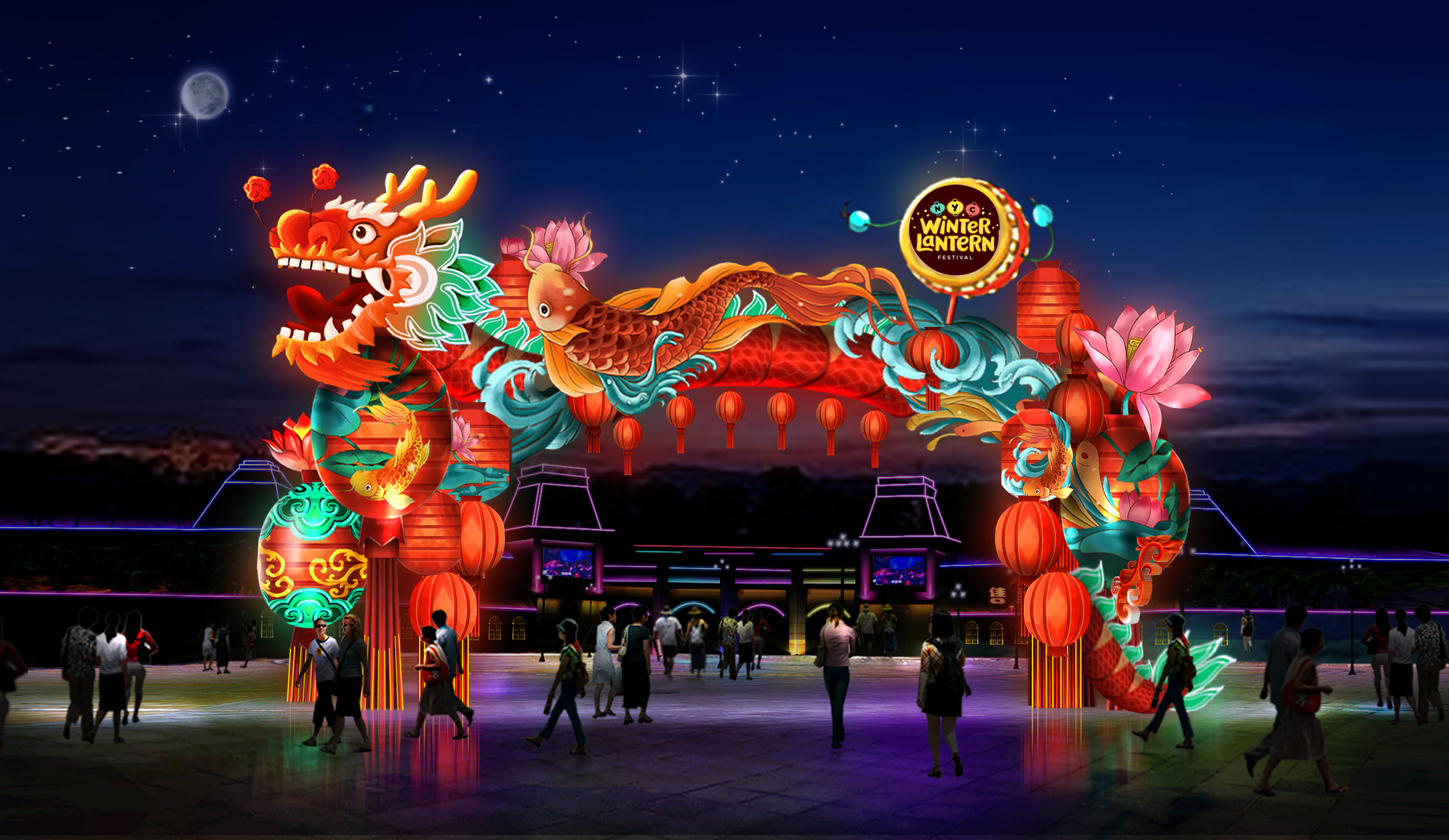 Tickets for NYC Winter Lantern Festival in Staten Island