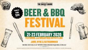 Beer and BBQ Festival By The Cheeky Squire