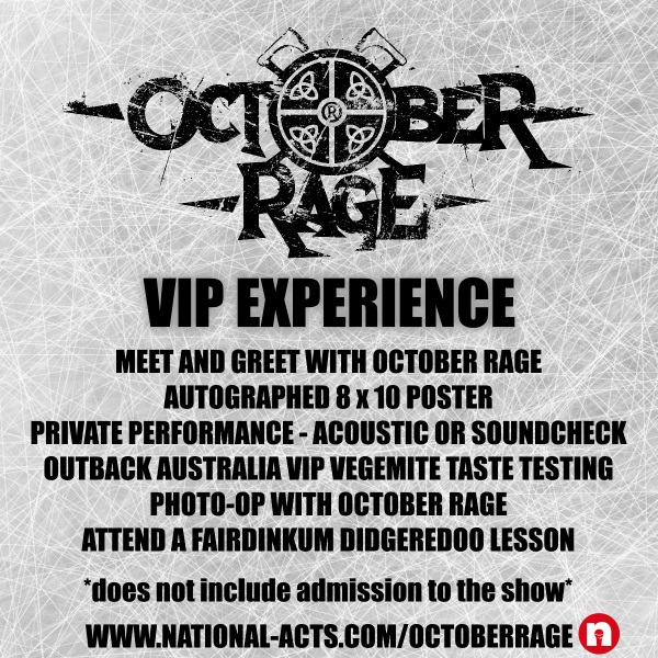 Tickets for october rage vip mandan nd in mandan from national tickets for october rage vip mandan nd in mandan from national acts inc m4hsunfo