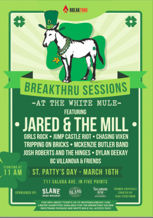 The Breakthru Sessions at the Mule