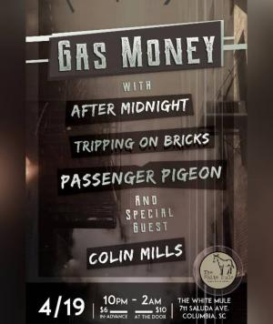 GAS MONEY, AFTER MIDNIGHT, & MORE