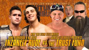 Northeast Wrestling - AUTUMN AMBUSH - Oct. 19th NEW Arena in Bethany, CT