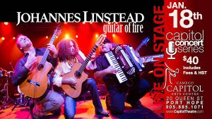 Johannes Linstead  Guitar of Fire