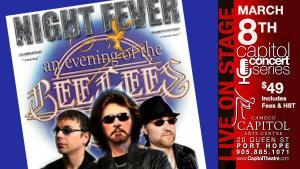 Bee Gees Night Fever – Tribute