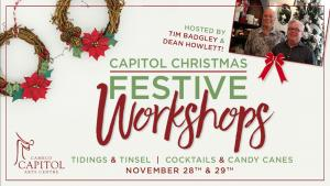 TIDINGS AND TINSEL WORKSHOP