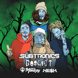 Eighty-Six ft Subtronics, Boogie T + More