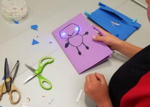 Light-Up Cards with Paper Circuits (All Ages)