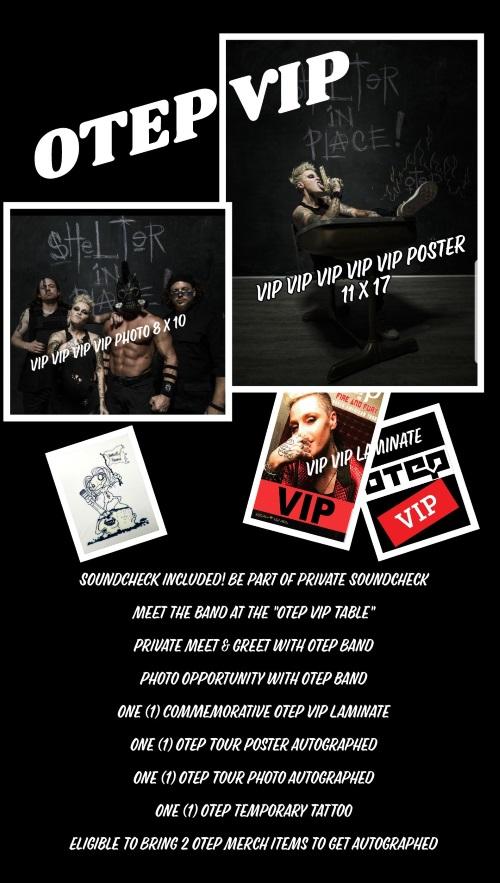 OTEP VIP - Knoxville, TN