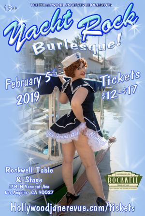 Hollywood Janes Revue Presents: Yacht Rock Burlesque