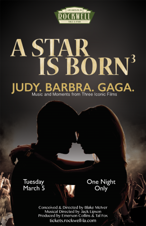 A Star Is Born: Judy. Barbra. Gaga.