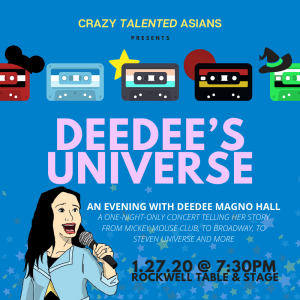 Crazy Talented Asians PRESENTS: Deedee's Universe