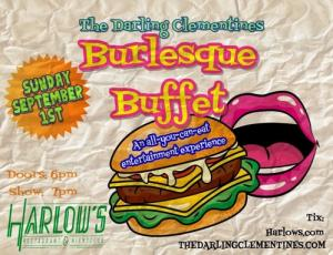 The Darling Clementines' Burlesque Buffet
