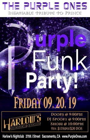 The Purple Ones' Purple Funk Party