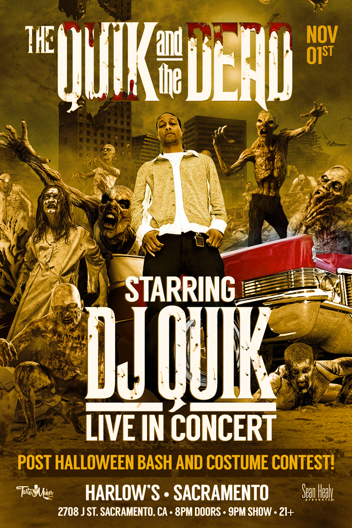 Image result for dj quik The Quik & The Dead harlow's