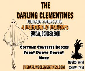 The Darling Clementines: A Haunting at Harlow's