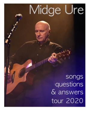 Midge Ure - Songs, Questions & Answers