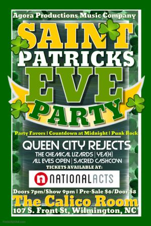 St Patrick's Eve Party!!!