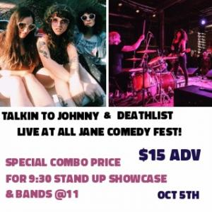 All Jane: Double Feature Comedy + Bands