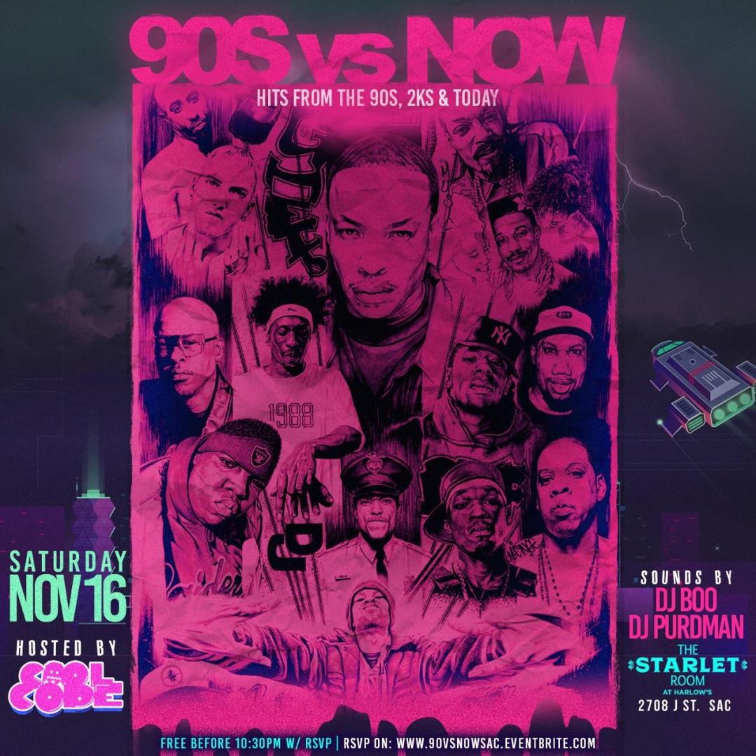 90s vs. Now – Hits from the 90s to Today