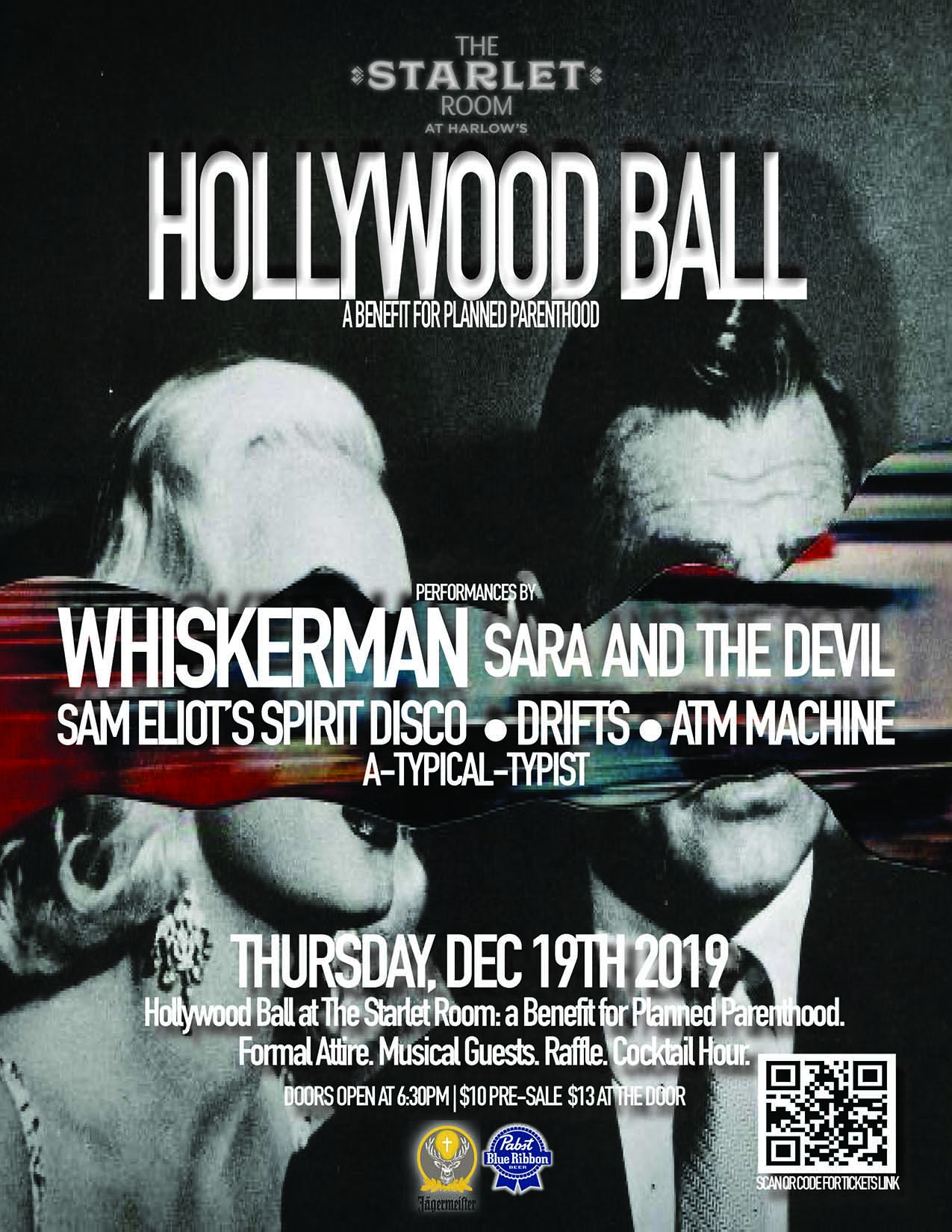 Hollywood Ball: A Planned Parenthood Benefit ft. Whiskerman