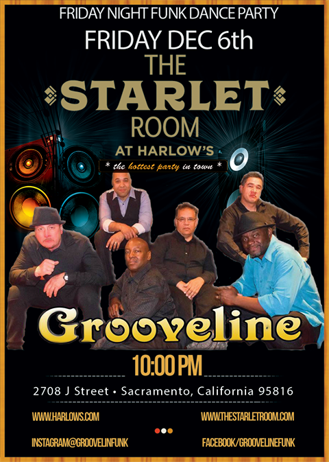 Grooveline Friday Night Funk Dance Party