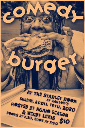 Comedy Burger ft. Ngaio Belum & Wendy Lewis