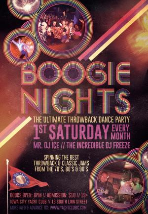 Boogie Nights - Ultimate Throwback Dance Party