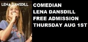 Comedian Lena Dansdill FREE SHOW