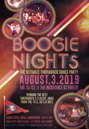 Boogie Nights - Summer throwback party