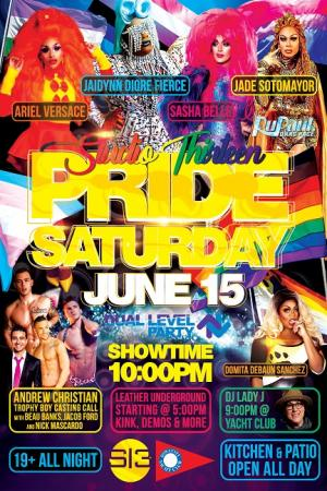 IC Pride night ft Andrew Christian & Ariel Versace